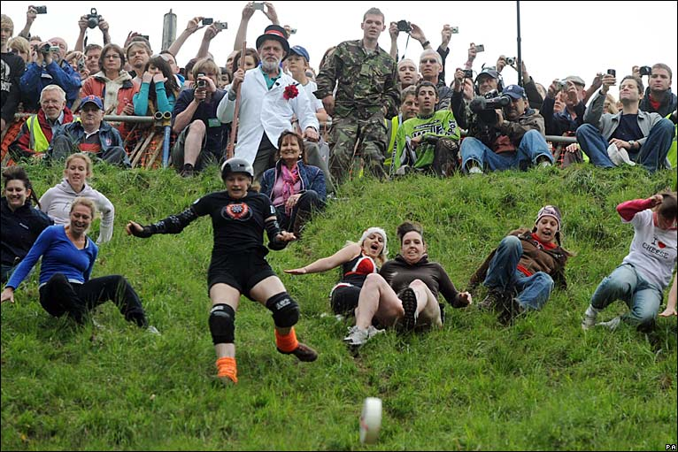 Cheese Rolling Gloucester